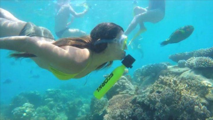 New device lets you breathe underwater without diving equipment
