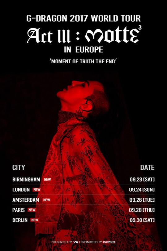 G-Dragon's solo European concert