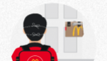 McDonalds contactless delivery